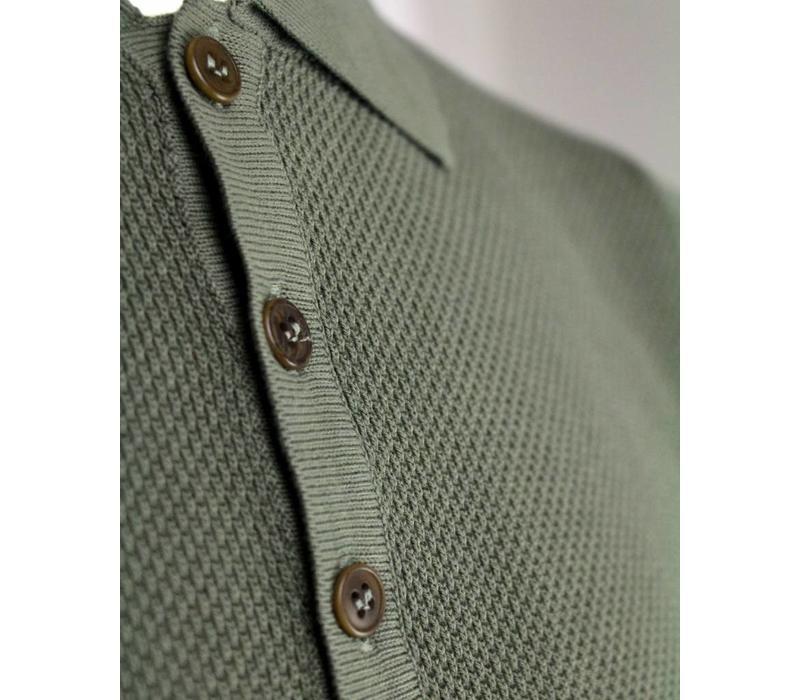 Wool & Co. Polo Groen