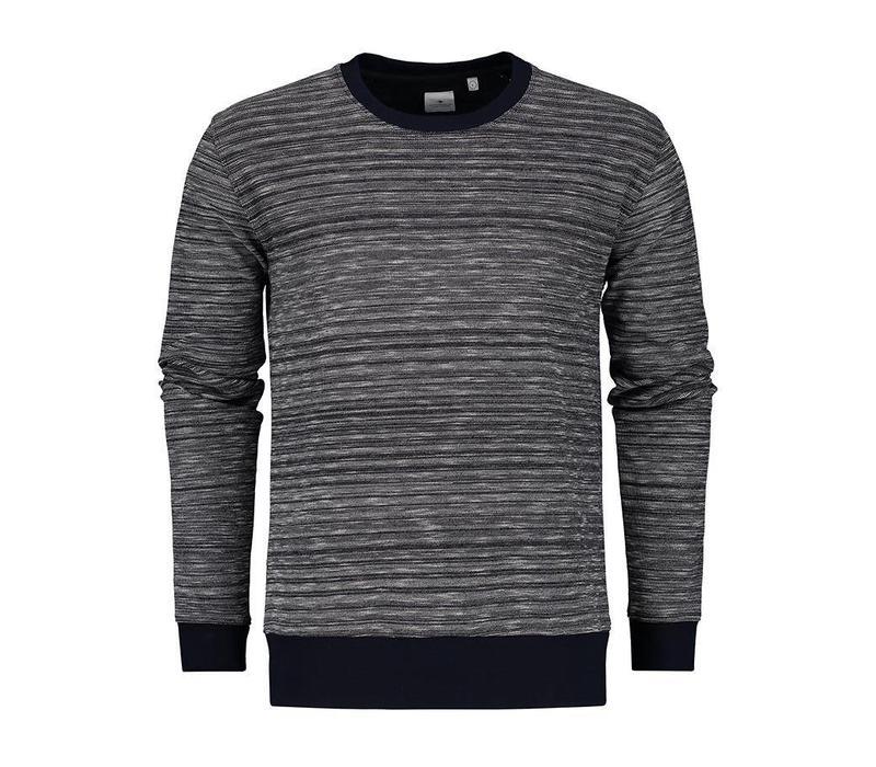 The Goodpeople Sweater Must Var Navy Melange