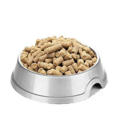 Onze Eend & Zoete aardappel brok is een graanvrij geperst hondenvoer  voor volwassen honden van alle rassen in de kracht van hun leven.