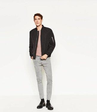Zara Skinny Jeans Grijs