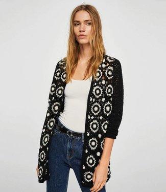 Esprit Zwart Crochet Vest