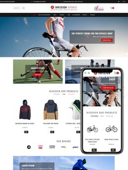 Theme Invision Bicycles & Sport