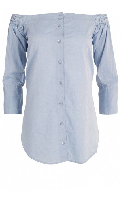 Hunkydory Lucille Chambray Blue