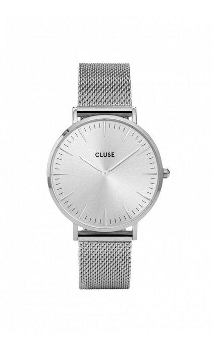 Cluse La Boheme Mesh Full Silver