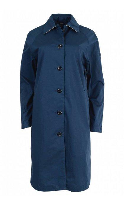 Langerchen Seymour Long Coat Blue