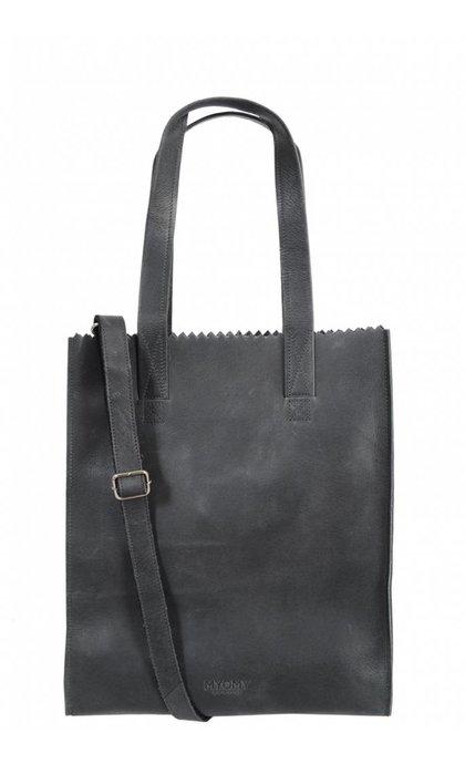 MYOMY Do Goods MY PAPER BAG DeLuxe Office Off Black