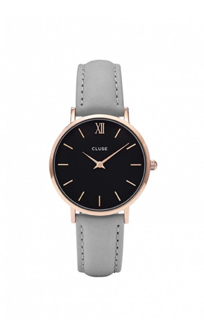 Cluse Minuit CL30018 Rose Gold Black Grey