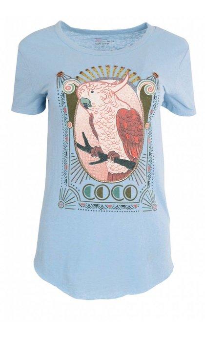 Leon & Harper Toro Coco T-Shirt Sky