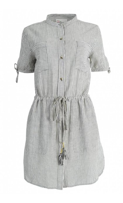 Leon and Harper Ralla Dress Grey