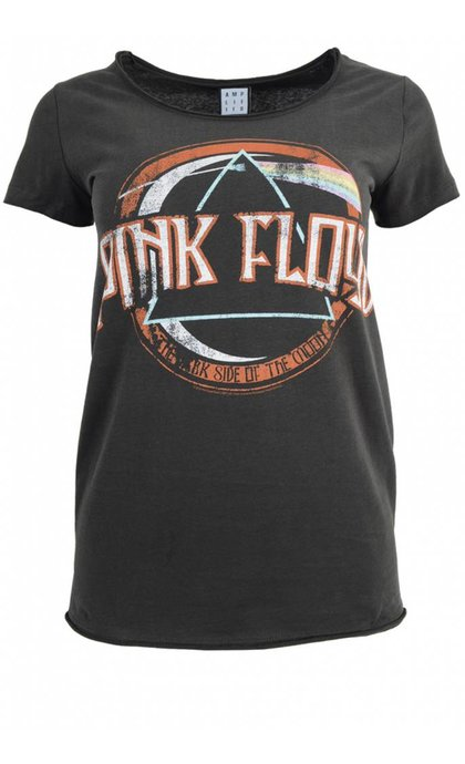 Amplified Pink Floyd on the Run T-Shirt Charcoal