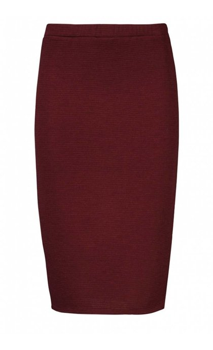 Modstrom Christiane Skirt Wine Red