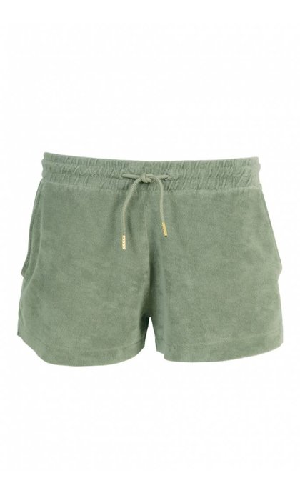 Hunkydory Wade Terry Shorts Light Army