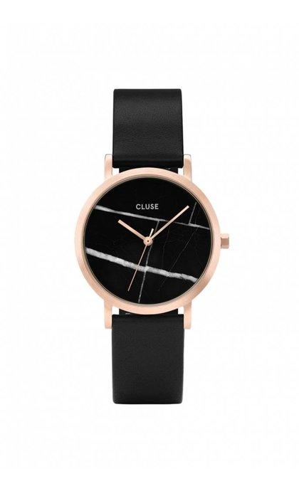 Cluse La Roche Petite Rose Gold Black Marble/Black