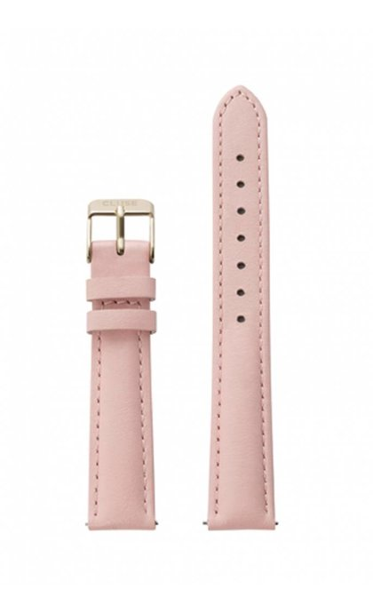 Cluse Minuit Watch Strap Pink/Gold