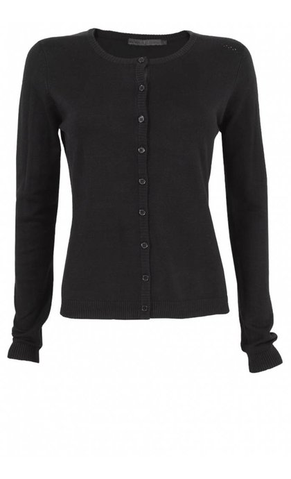 Minus New Laura Cardigan Black