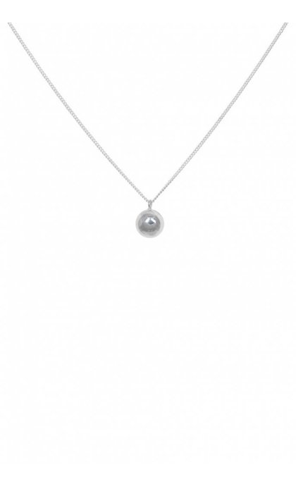 Anna + Nina Orb Necklace Ketting Zilver