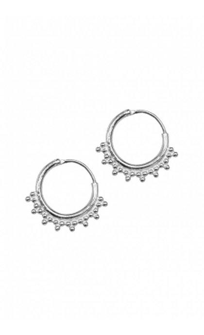 Anna + Nina Tiny Goa Earring Silver