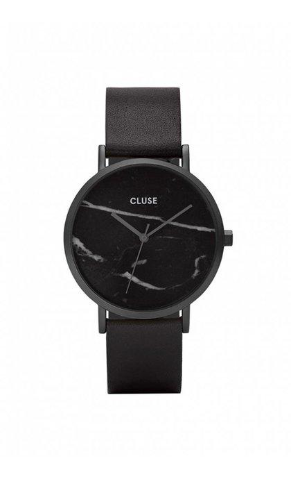 Cluse La Roche Full Black Marble