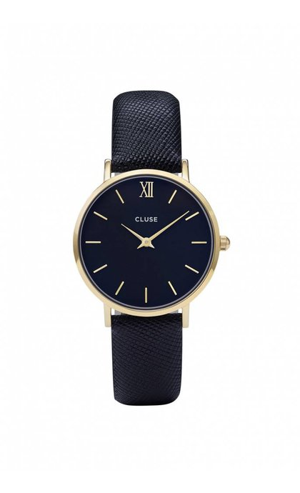 Cluse Minuit Gold/Midnight Blue