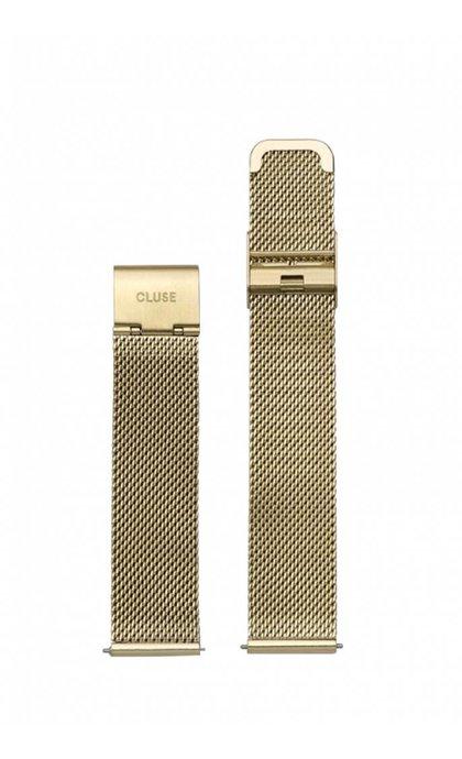 Cluse Minuit Strap CLS346 Mesh Gold