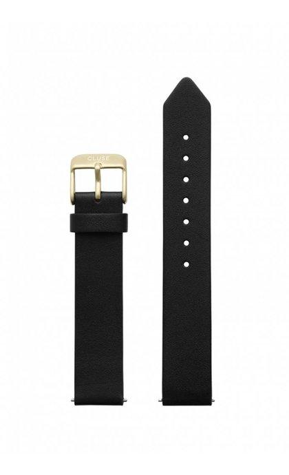Cluse La Roche Petite Strap Black/Gold