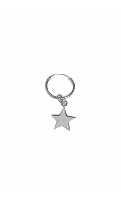 Fashionology Star Hoop Earring