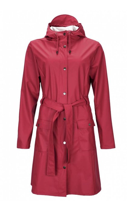 Rain Curve Jacket Scarlet