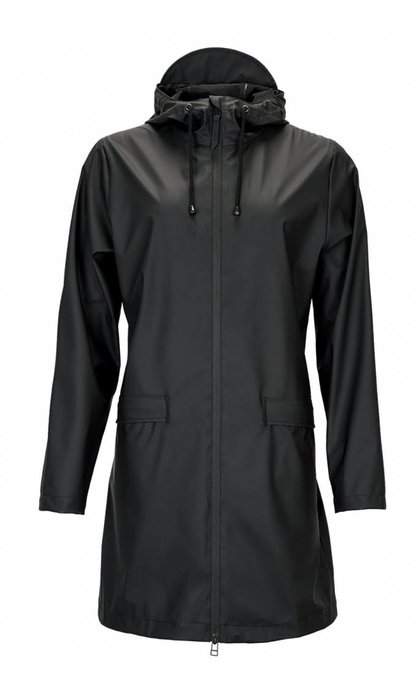 Rain W Coat Jacket Black
