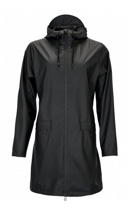 Rains W Coat Jacket Black