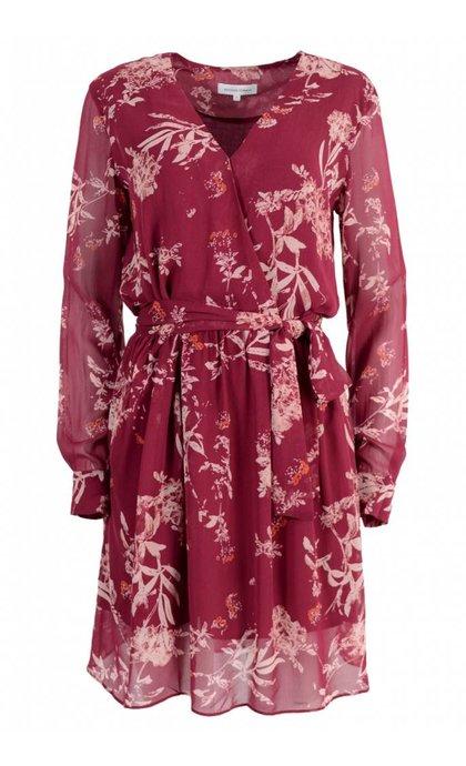 Second Female Wilma Dress Pomegranate