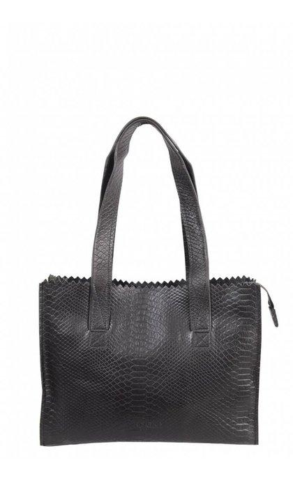 MYOMY Do Goods Handbag Anaconda Black