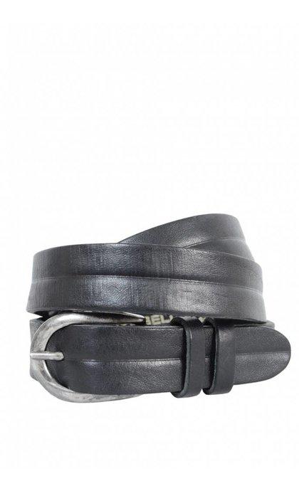 Cowboysbag Riem Smal Zwart