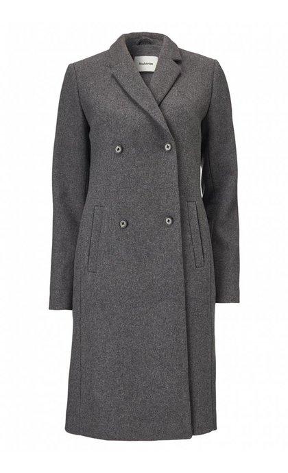 Modstrom Odelia Coat Dark Grey Melange