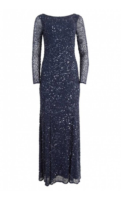 French Connection Helen Sparkle Maxi Dress Nocturnal