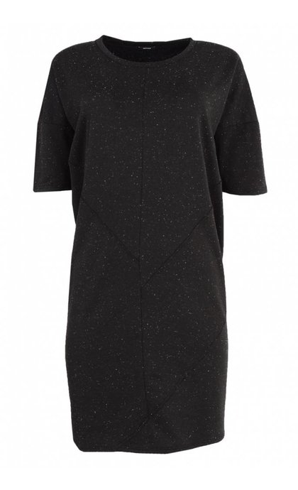 Denham Unite Dress MNS Shadow Black