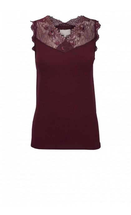 Minus Vanessa Top Bordeaux port