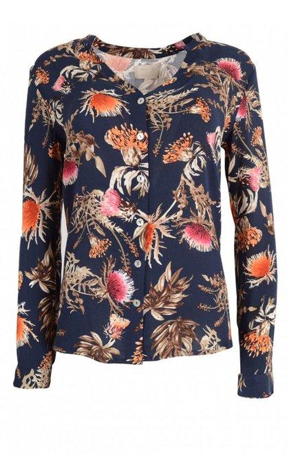 Minus Alexa Shirt Thistle Print