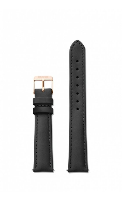 Cluse Minuit Strap Black/Rose Gold