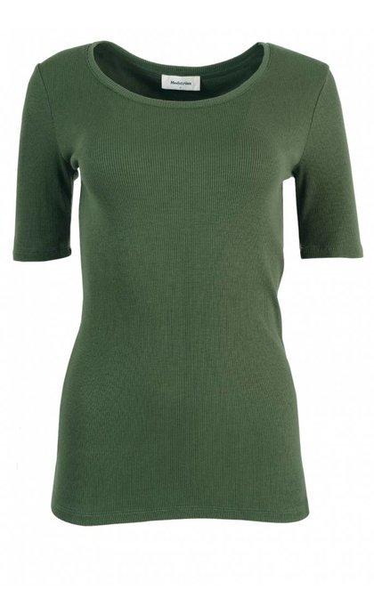 Modstrom Krown SS T-Shirt Moss Green