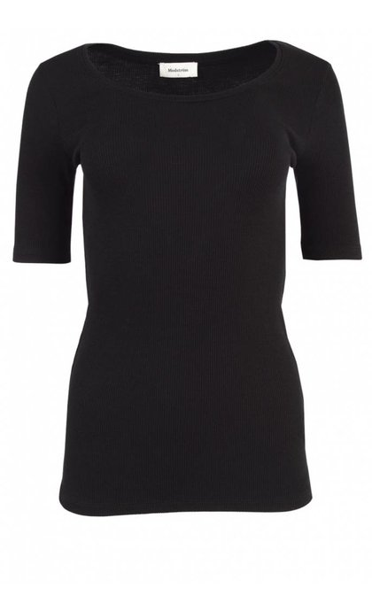 Modstrom Krown SS T-Shirt Black