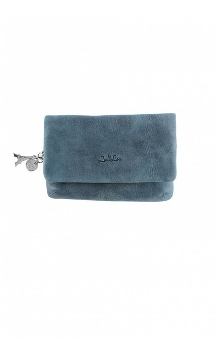 By LouLou 05Clutch Bovine Jeans Blue
