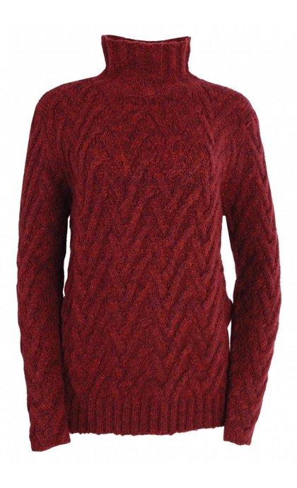 Denham Alps Knit PMB Lava Red