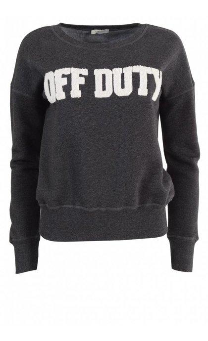 Hunkydory Off Duty Muse Fleece Dark Grey Melange