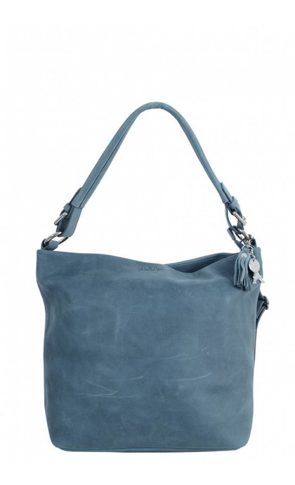 By LouLou 20Bag Bovine Jeans Blue
