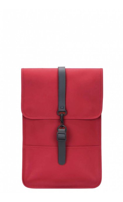 Rain Backpack Mini Scarlet