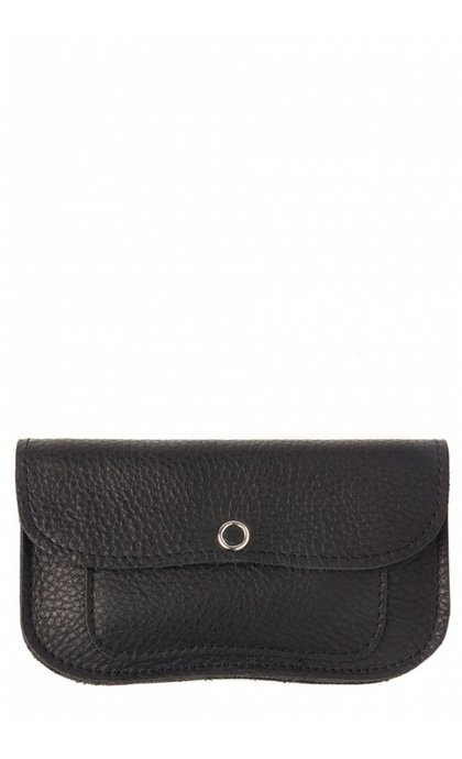 Keecie Cat Chase Wallet Medium Black