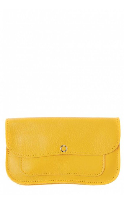 Keecie Cat Chase Wallet Medium Yellow
