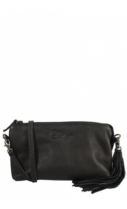Elvy Jolie Zipperbag Black