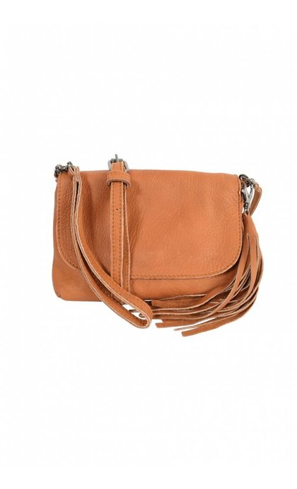 Elvy Gigi Little Festival Bag Cognac