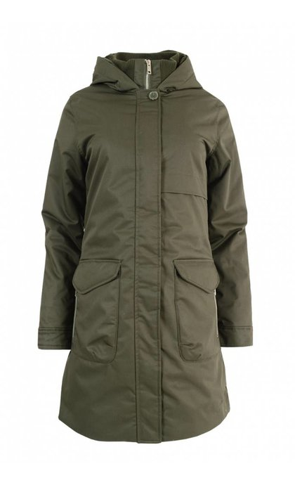 Elvine Monica Parka Army Green